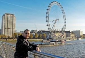 Андрей Хадживасилев в Лондон