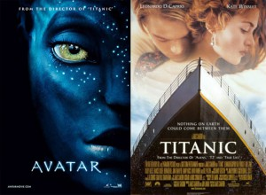 Avatar vs Titanic